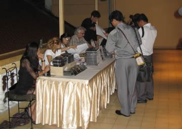 Book signing for Phnom Penh Noir at the Foreign Correspondents' Club of Phnom Penh