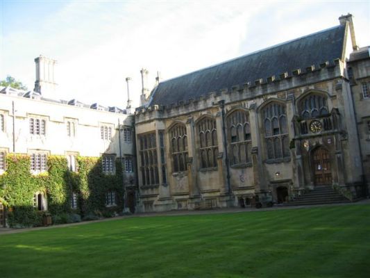 The chapel at All Soul's College, Oxford