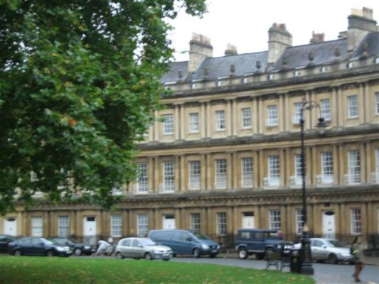 "The ""Circus"" in Bath"
